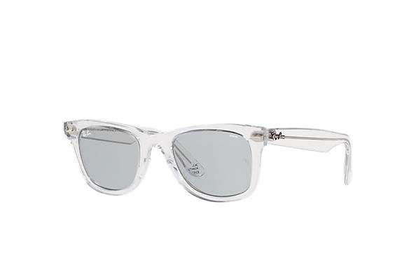 Ray-Ban Occhiali-da-sole Ray-Ban Studios x All Points East Trasparente con lente Blu Evolve fotocromatica