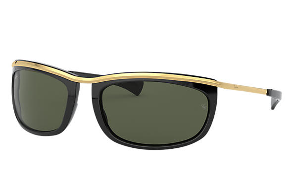 Ray-Ban 0RB2319-OLYMPIAN I Noir; Or SUN