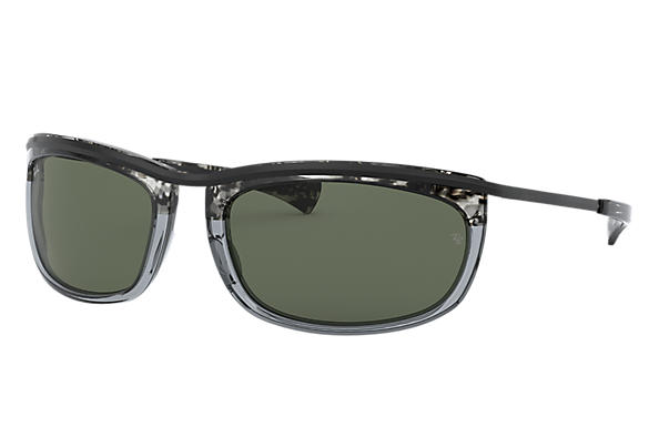 Ray-Ban 0RB2319-OLYMPIAN I Grey Gradient Havana,Grey; Black SUN