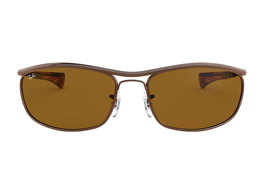 Ray-Ban  sunglasses RB3119M UNISEX 001 olympian i deluxe brown 8056597122122