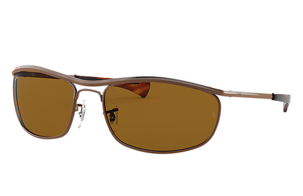 Ray-Ban 0RB3119M-OLYMPIAN I DELUXE Brown SUN