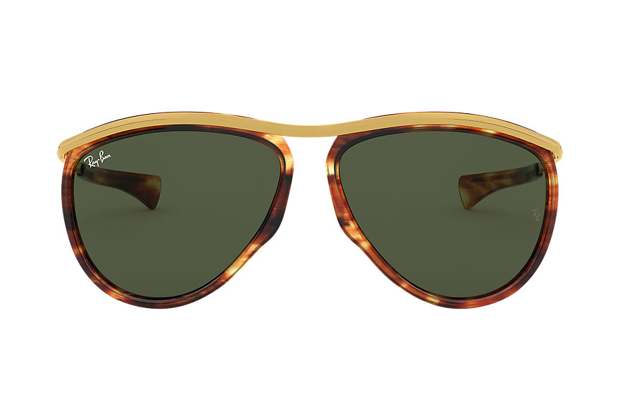 Ray-Ban  sunglasses RB2219 UNISEX 001 aviator olympian 玳瑁色 8056597122191