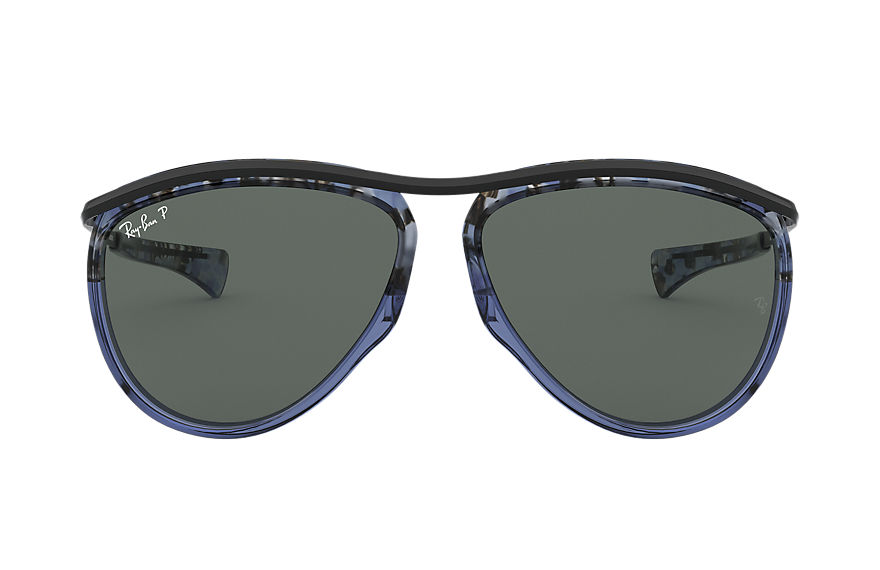 Ray-Ban  sunglasses RB2219 UNISEX 001 aviator olympian blue gradient havana 8056597122238