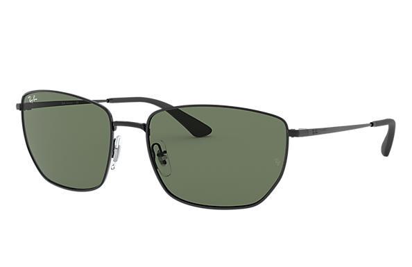 Ray-Ban 0RB3653-RB3653 Black SUN