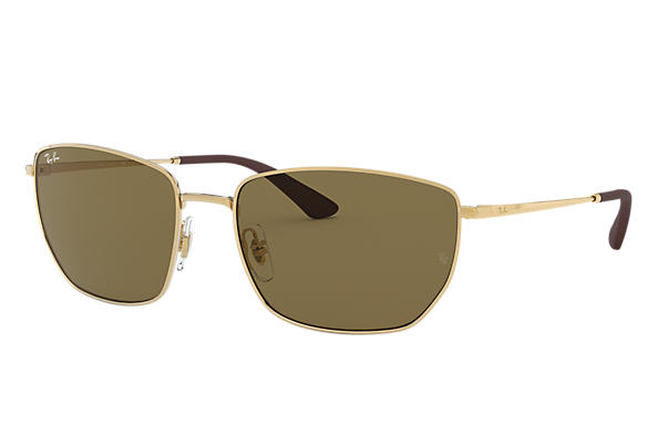 Ray-Ban 0RB3653-RB3653 Gold SUN