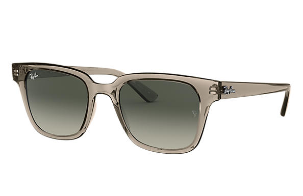 Ray-Ban 0RB4323-RB4323 Transparent Grey,Grigio SUN