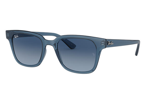 Ray-Ban 0RB4323-RB4323 Transparent Blue SUN
