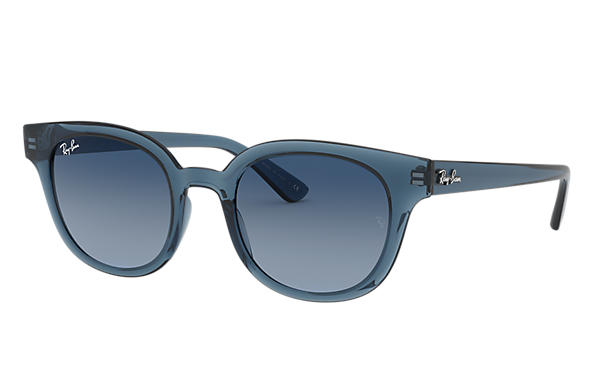 Ray-Ban 0RB4324-RB4324 Transparent Blue SUN