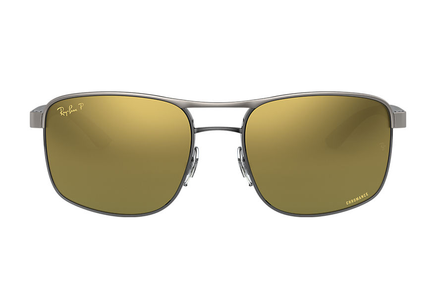 Ray-Ban  sunglasses RB3660CH MALE 004 rb3660 chromance staalgrijs 8056597122795