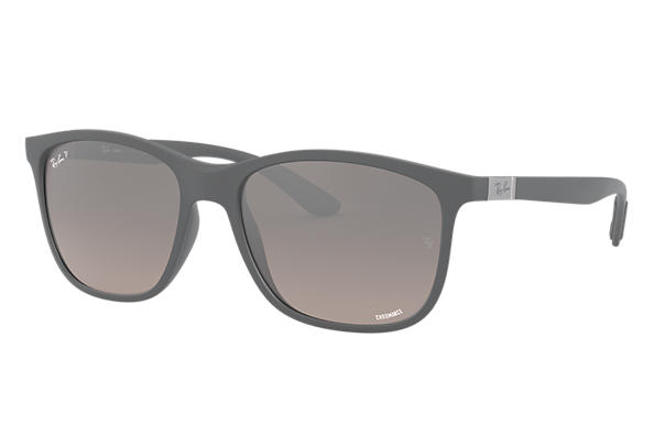 Ray-Ban 0RB4330CH-RB4330 CHROMANCE Grey SUN