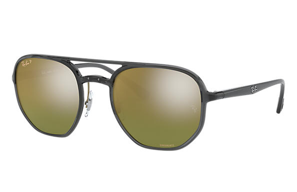 Ray-Ban 0RB4321CH-RB4321 CHROMANCE Transparent Grey; Transparent Grey,Grey SUN