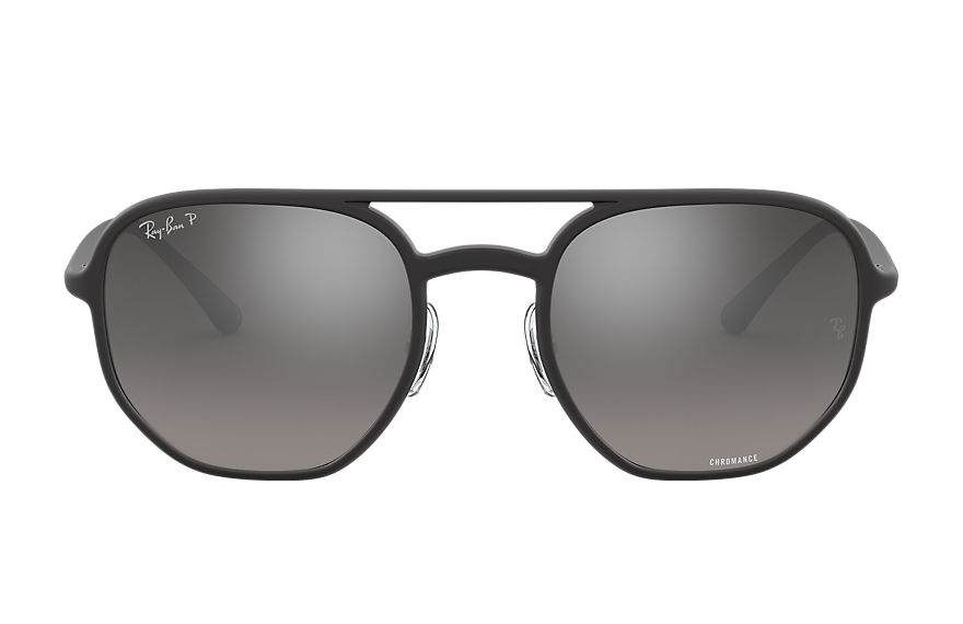 Ray-Ban  sunglasses RB4321CH UNISEX 001 rb4321 chromance matte black 8056597123006