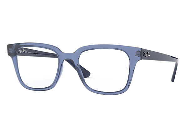 Ray-Ban 0RX4323V-RB4323V Transparent Blue; Blu OPTICAL
