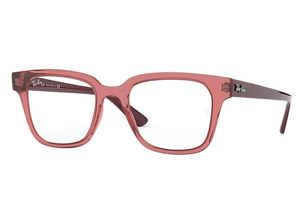 Ray-Ban 0RX4323V-RB4323V Transparent Red,Rot; Rot OPTICAL