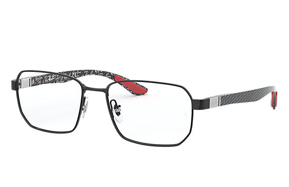 Ray-Ban 0RX8419-RB8419 Black; Brushed Silver OPTICAL