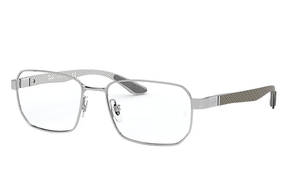 Ray-Ban 0RX8419-RB8419 Silver; Brushed Silver,Silver OPTICAL