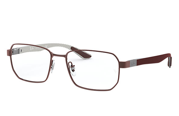 Ray-Ban 0RX8419-RB8419 Marrom; Cor-de-chumbo escovado,Chumbo OPTICAL