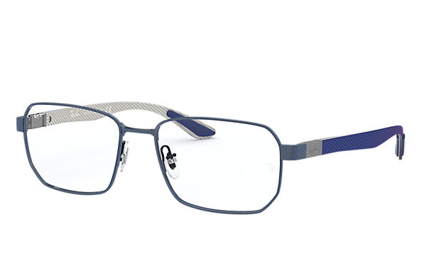 Ray-Ban 0RX8419-RB8419 Bleu; Brushed Gunmetal,Gun OPTICAL
