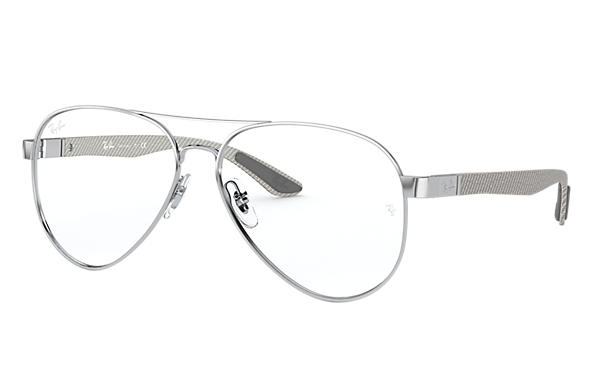 Ray-Ban 0RX8420-RB8420 Silber; Brushed Silver,Silber OPTICAL