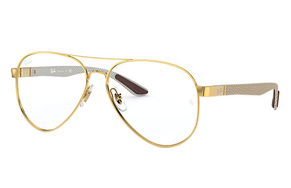Ray-Ban 0RX8420-RB8420 Gold; Brushed Gold,Gold OPTICAL