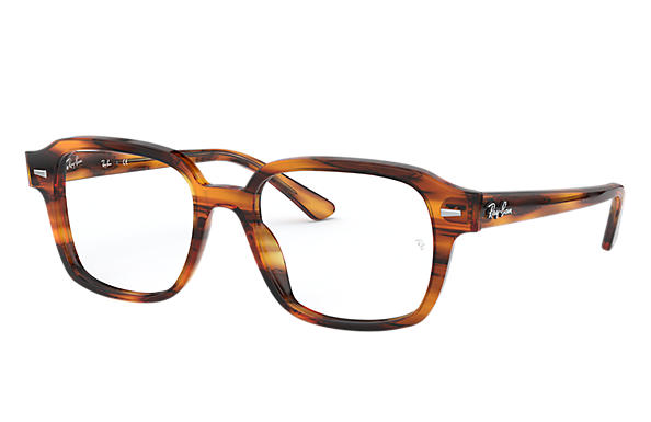 Ray-Ban 0RX5382-TUCSON Striped Red Havana OPTICAL