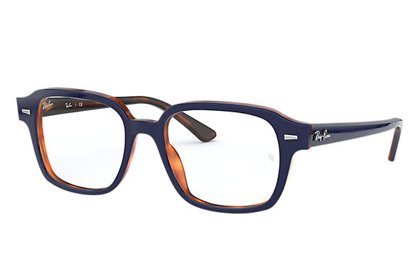 Ray-Ban 0RX5382-TUCSON Blau,Havana OPTICAL