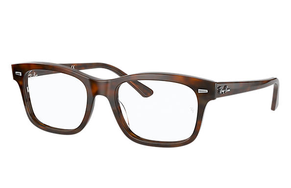 Ray-Ban 0RX5383-BURBANK Havana rosso,Rosso OPTICAL