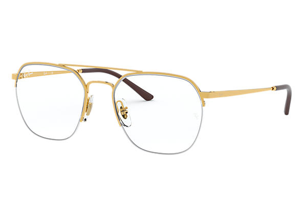 Ray-Ban 0RX6444-RB6444 Gold OPTICAL