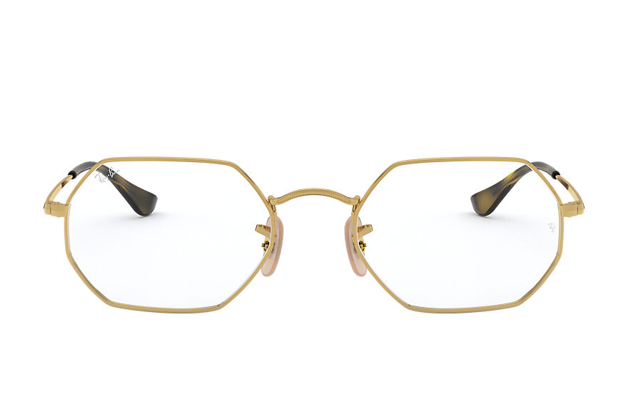 Ray-Ban  eyeglasses RX6456 UNISEX 001 octagonal optics goud 8056597124317
