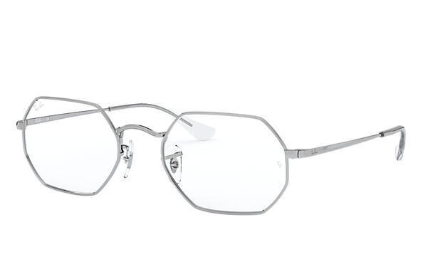 Ray-Ban Graduados OCTAGONAL OPTICS Prata