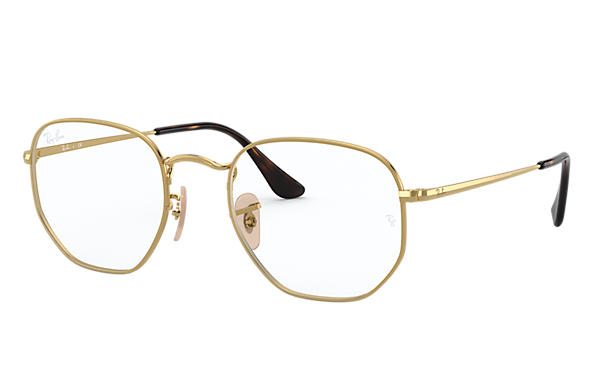Ray-Ban 0RX6448-HEXAGONAL OPTICS Gold OPTICAL
