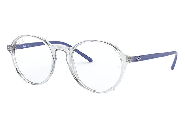 Ray-Ban 0RX7173-RB7173 Transparent; Blue OPTICAL