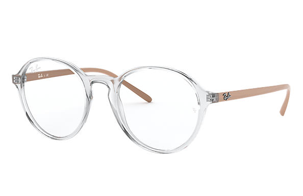 Ray-Ban 0RX7173-RB7173 Transparent; Beige OPTICAL