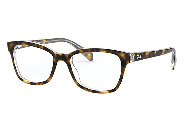 Ray-Ban 0RY1591-RB1591 Tortoise,Transparent OPTICAL