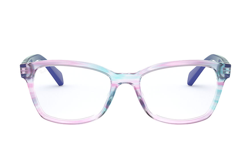 Ray-Ban  eyeglasses RY1591 CHILD 002 rb1591 striped violet 8056597126144