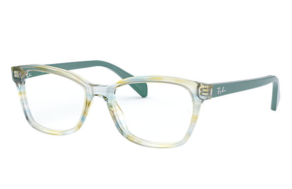 Ray-Ban RB1591 Striped Green