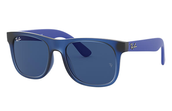 Ray-Ban 0RJ9069S-RJ9069S Transparent Blue; Rubber Blue,Blue SUN