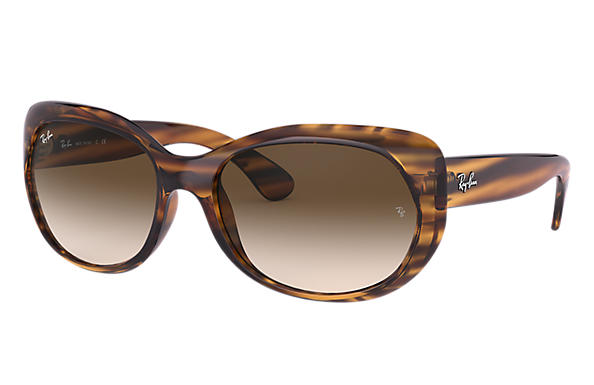Ray-Ban 0RB4325-RB4325 Marrone a strisce SUN