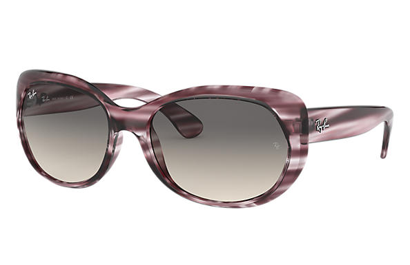 Ray-Ban 0RB4325-RB4325 Striped Bordeaux,Bordeaux; Striped Bordeaux,Red SUN