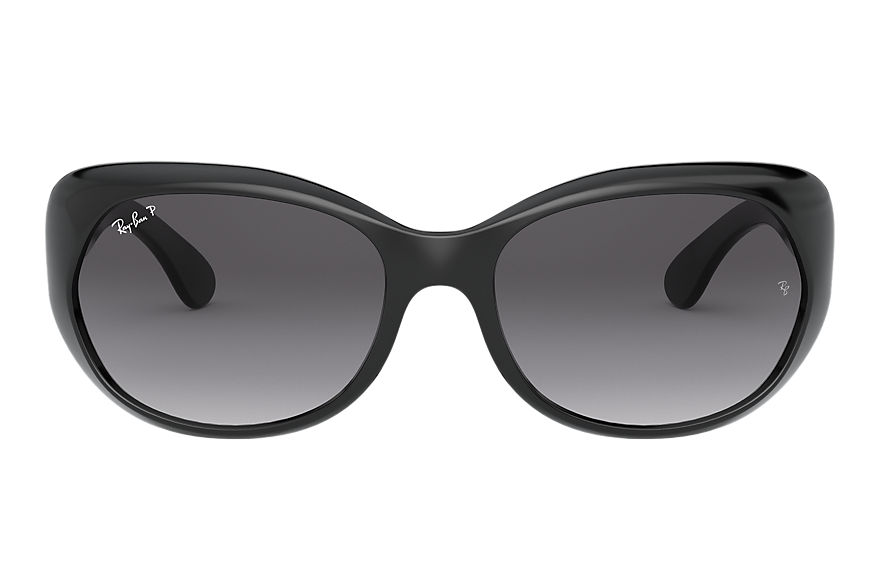 Ray-Ban Sunglasses RB4325 Black with Grey Gradient lens