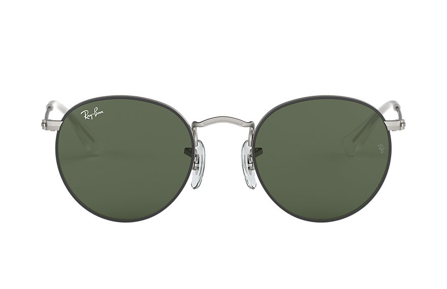 Ray-Ban  sunglasses RJ9547S CHILD 001 round metal junior matte black 8056597135955
