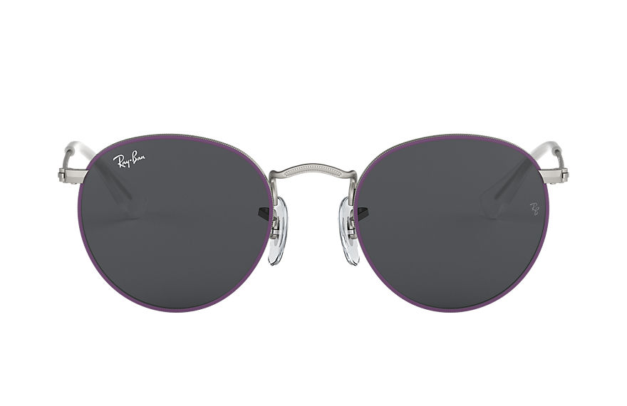 Ray-Ban  sunglasses RJ9547S CHILD 001 round metal junior violet 8056597135962