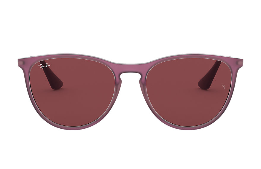Ray-Ban  sunglasses RJ9060S CHILD 001 izzy matte transparent fuxia 8056597136105