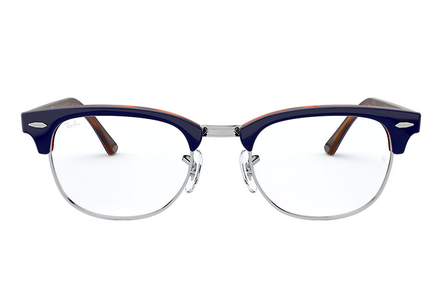 Ray-Ban  eyeglasses RX5154 UNISEX 001 clubmaster optics blue 8056597137324