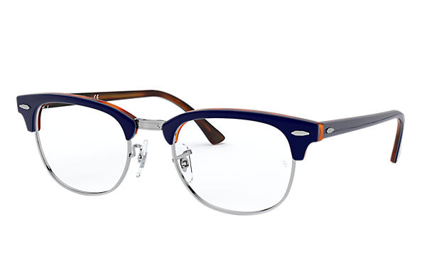 Ray-Ban 0RX5154-CLUBMASTER OPTICS Blue,Tortoise OPTICAL