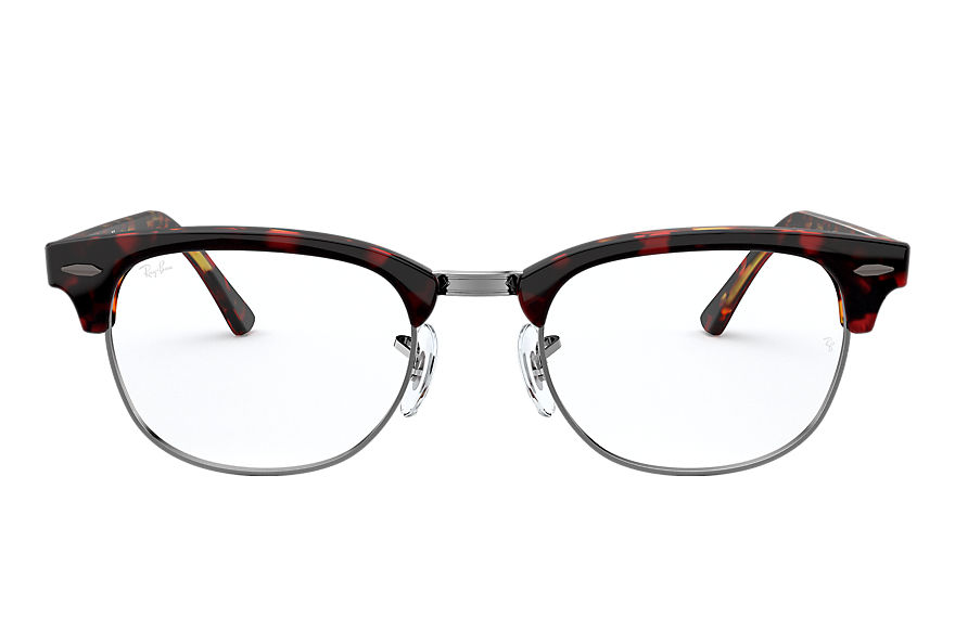Ray-Ban  eyeglasses RX5154 UNISEX 001 clubmaster optics red havana 8056597137348