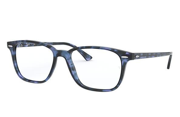 Ray-Ban 0RX7119-RB7119 Blue Havana,Bleu OPTICAL