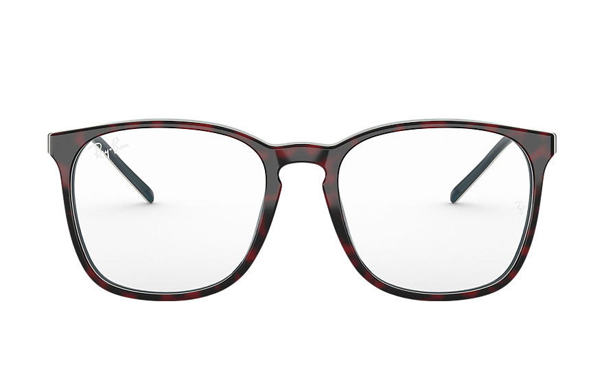 Ray-Ban  eyeglasses RX5387 UNISEX 001 rb5387 red havana 8056597137881