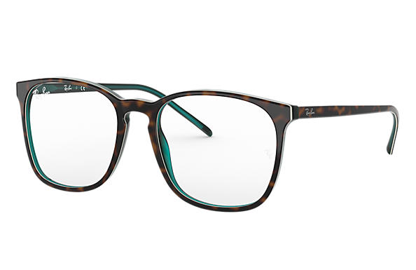 Ray-Ban 0RX5387-RB5387 Szylkret,Turkusowy OPTICAL