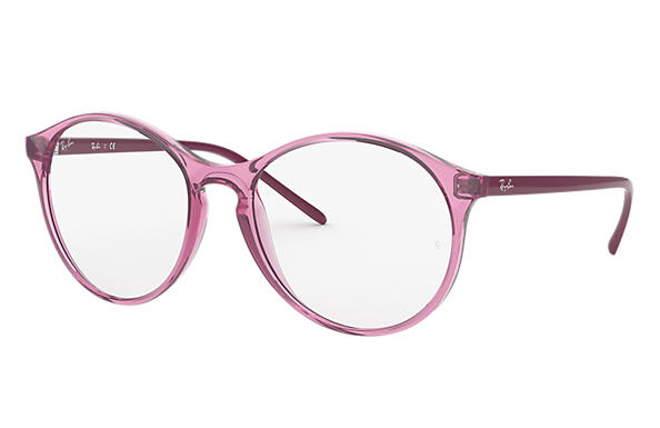 Ray-Ban 0RX5371-RB5371 Transparent Pink,Pink; Pink OPTICAL